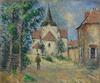 Gustave LOISEAU - Painting - Le Village Animé