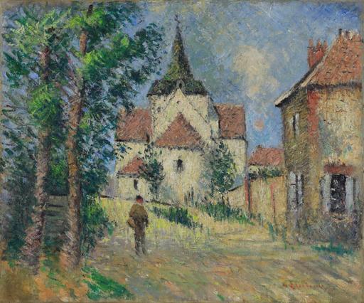 古斯塔夫·罗瓦索 - 绘画 - Le Village Animé