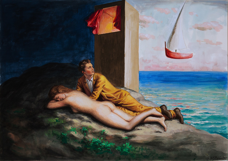 Stefano DI STASIO - Drawing-Watercolor - Risveglio