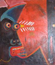 Abol ATIGHETCHI - Gemälde - La Crie de King-kong ( Le Cri )