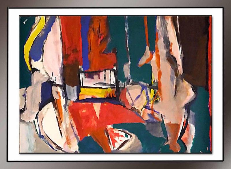 Claudio CINTOLI - Painting - senza titolo