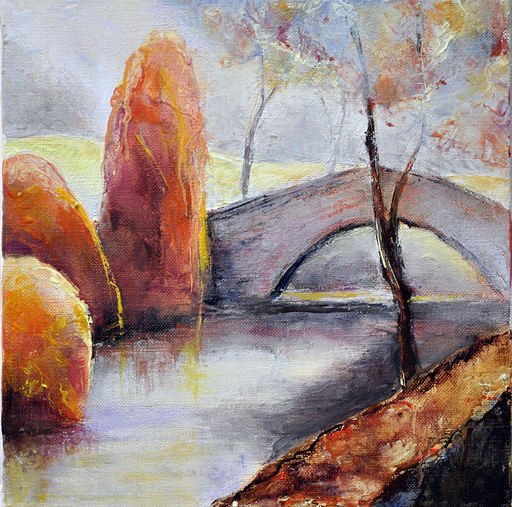 Françoise DUGOURD CAPUT - Painting - Eyheraberry