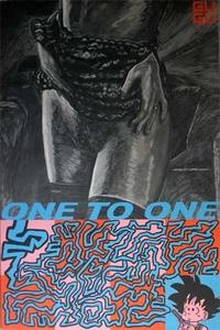Laurent GUGLI - Pittura - ONE TO ONE