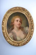 Jean-Baptiste GREUZE (1725-1805) - Study of a girl