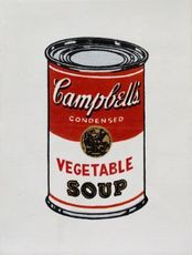 Richard H. PETTIBONE - Print-Multiple - Andy Warhol 'Campbell's Soup Can, Vegetable'