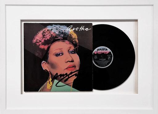 安迪·沃霍尔 - 版画 - Vinyl record - Aretha Franklin