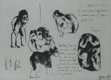 José Luis CUEVAS - Grabado - In My Early Childhood