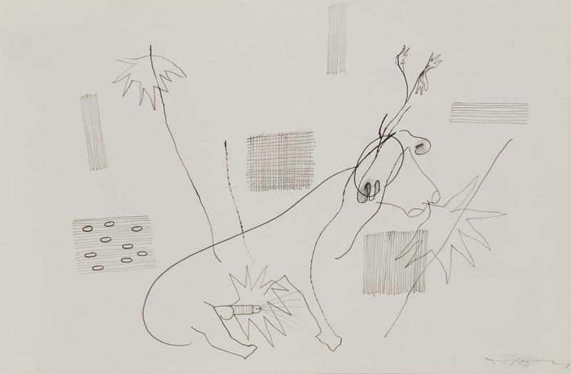 Oswald OBERHUBER - Drawing-Watercolor