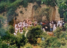 Hermann NITSCH - Photo - Azione N. 96 – Giardini S. Martino A Napoli