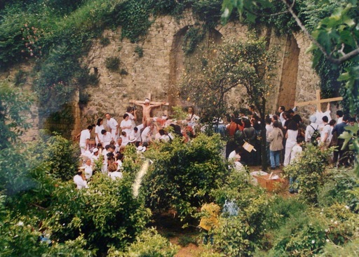Hermann NITSCH - Photography - Azione N. 96 – Giardini S. Martino A Napoli