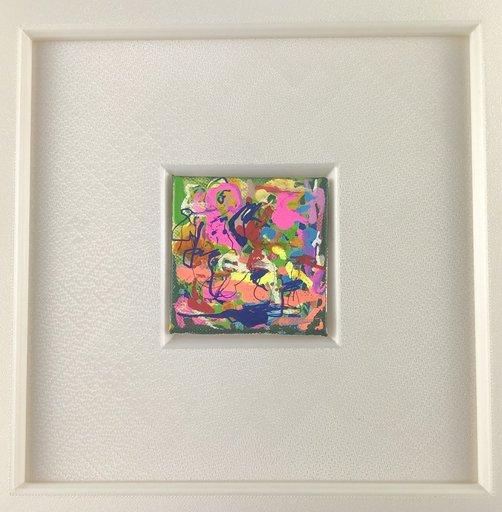 Nicole LEIDENFROST - Gemälde - Bunter Sturm