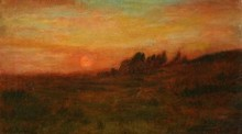 Charles William MACCORD - Painting - Tonalist Landscape