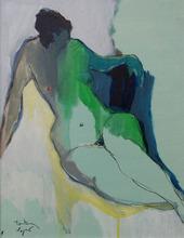 Isaac TARKAY - Peinture - Nude VII