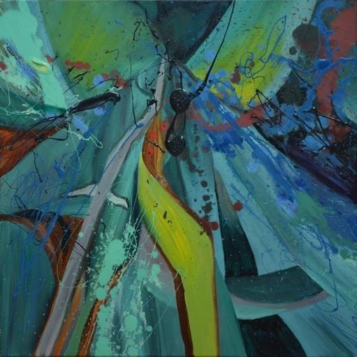 Peny MANAVI - Gemälde - Cactus 18