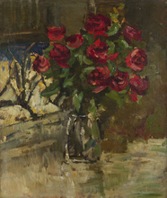Konstantin A. KOROVIN (1861-1939) - Still Life with Red Roses