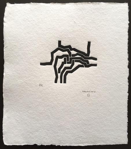 Eduardo CHILLIDA - Print-Multiple - Mas Allá - Jorge Guillén -