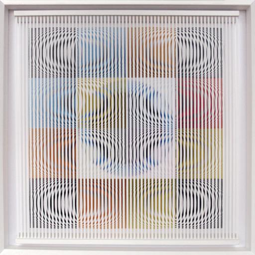 Alberto BIASI - Peinture - Trottole 1