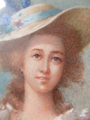 M.L. CUROT-BARBEREL - Miniatura - Duchesse de Polignac