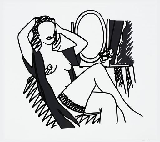 Tom WESSELMANN - Print-Multiple - Nude and Mirror