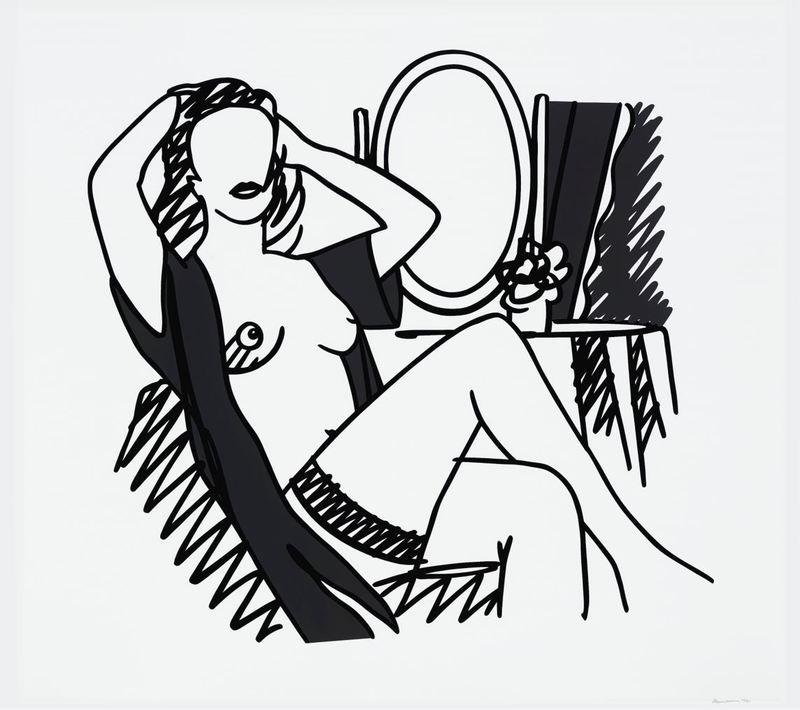 Tom WESSELMANN - Print-Multiple - Nude and Mirror