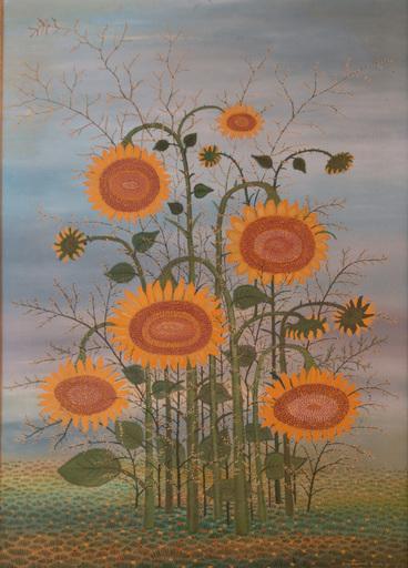 Ivan LACKOVIC - Pittura - Sonnenblumen