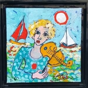 RAYA - Painting - Rêverie Musicale