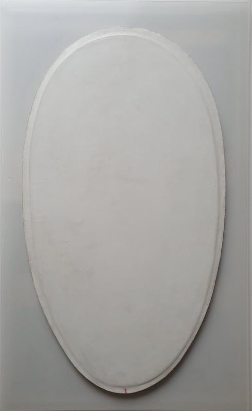 Angelo SAVELLI - Gemälde - N°13 Ovale