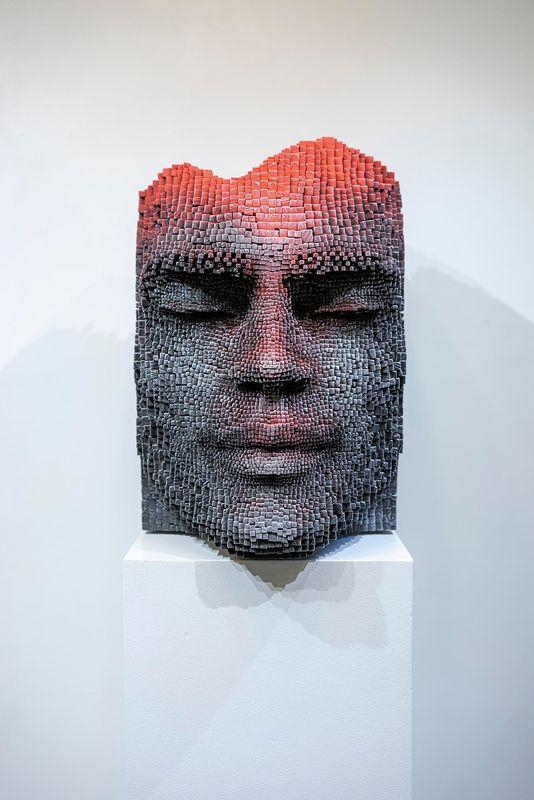 Gil BRUVEL - Sculpture-Volume - SOLAR