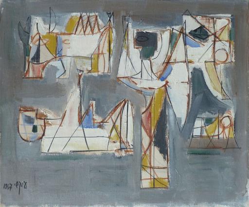 Avshalom OKASHY - Painting - Sacrifice of Isaac