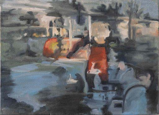 Clémence ARNOLD - Painting - « Ma mémoire floue II »