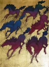 Guillaume A. AZOULAY - Print-Multiple - *Cavalcade I, II, III