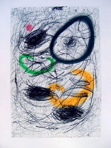 胡安·米罗 - 版画 - La cabellera de Berenice
