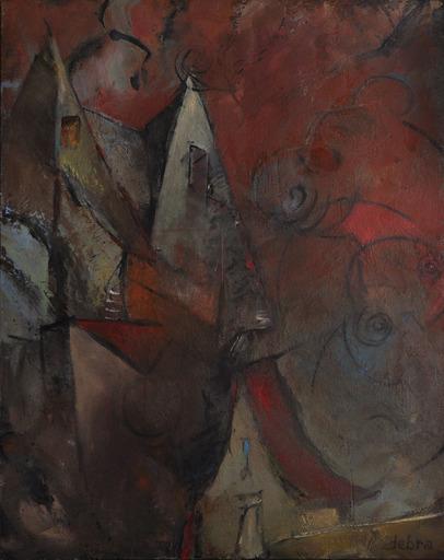 Réjane DE TASSIGNY - Painting - La maison aux esprits