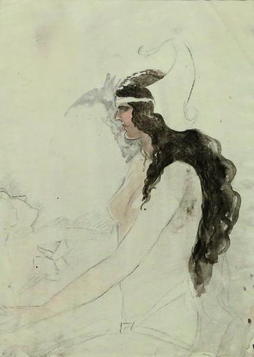 Amrita SHER-GIL - Pintura - Untitled