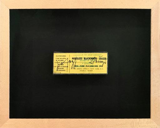 Joseph BEUYS - Escultura - Noiseless Blackboard Eraser (Geräuschloser Schultafel-Reinig