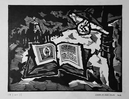 Oskar RABIN - 版画 - L'Hymne Acathiste