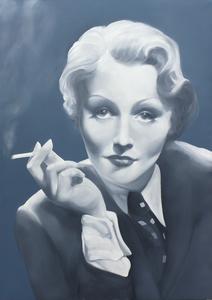 Gian Marco MONTESANO - Painting - Fumo negli occhi
