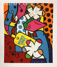 Romero BRITTO - Grabado - Absolut Britto II