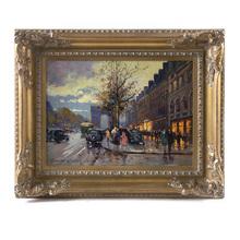 Édouard CORTES - Pintura - L'Arc de Triomphe