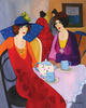 Isaac TARKAY (1935-2012) - Women at a Cafe