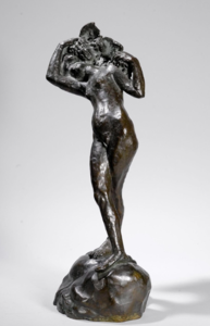 Émile Antoine BOURDELLE - Sculpture-Volume - Bacchante aux jambes croisées