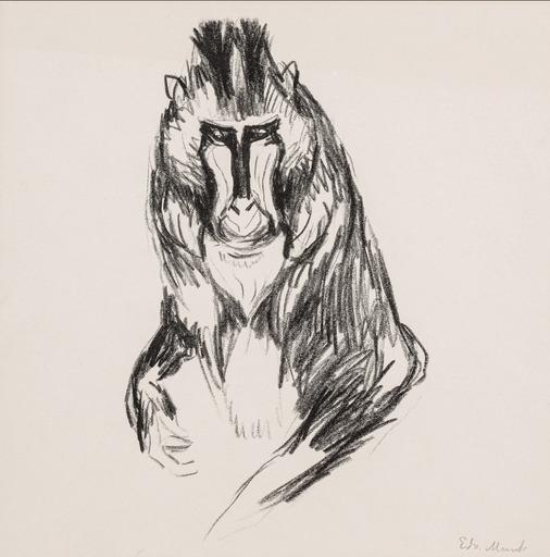 Edvard MUNCH - Print-Multiple - Gorilla