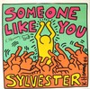 Keith HARING - Drawing-Watercolor - Le Bébé de Haring sur « Sylvester »