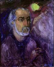Boris Israelewitsch ANISFELD - Pittura - SELF-PORTRAIT