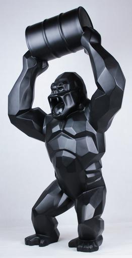 Richard ORLINSKI - Sculpture-Volume - WILD KONG AU BIDON BLACK