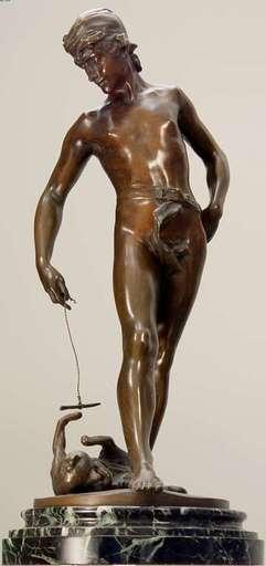 Clément Léopold STEINER - Skulptur Volumen - Cat Toy