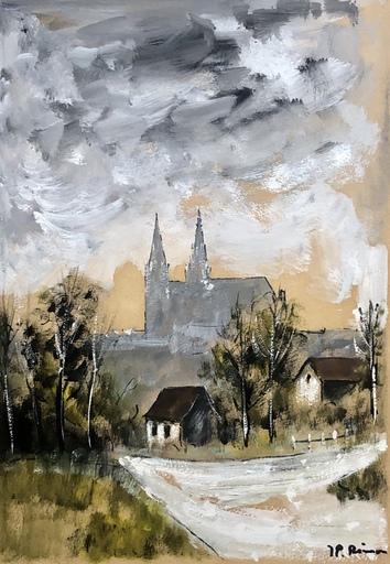 Jean-Pierre RÉMON - Disegno Acquarello - Paysage