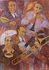 Remo SQUILLANTINI - Peinture - Jazz