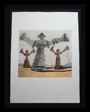 萨尔瓦多·达利 - 版画 - Historia de Don Quichotte de la Mancha The Spinning Man