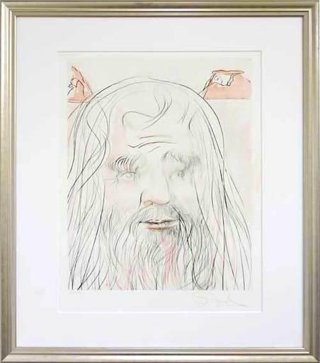 萨尔瓦多·达利 - 版画 - Hommage à Leonardo